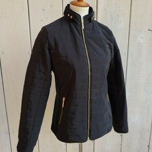 Tommy Hilfiger Black Quilted Puffer Jacket